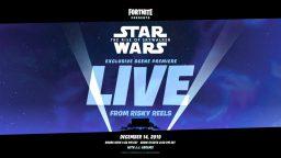 Star Wars: Episodio IX, una sequenza inedita in anteprima… su Fortnite