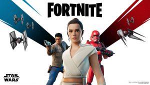 Fortnite, la registrazione dell'evento di Star Wars Ep. IX con una clip inedita