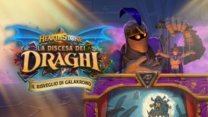 Il Risveglio di Galakrond è la nuova avventura in singolo di Hearthstone