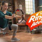 Un giocatore mostra il dimagrimento utilizzando Ring Fit Adventure