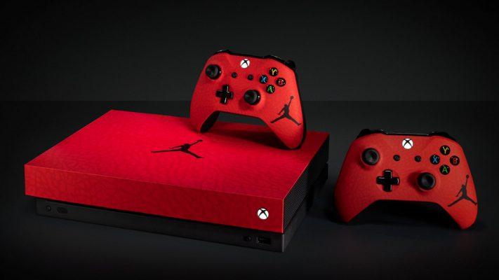 Xbox One X Jordan
