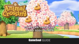 Animal Crossing: New Horizons – Come far crescere soldi sugli Alberi