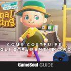 Animal Crossing: New Horizons – Guida agli Strumenti d'oro