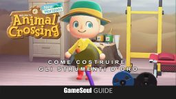 Animal Crossing New Horizons strumenti d'oro