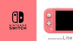Nintendo Switch Lite corallo arriva anche in Italia: ecco la data d'uscita