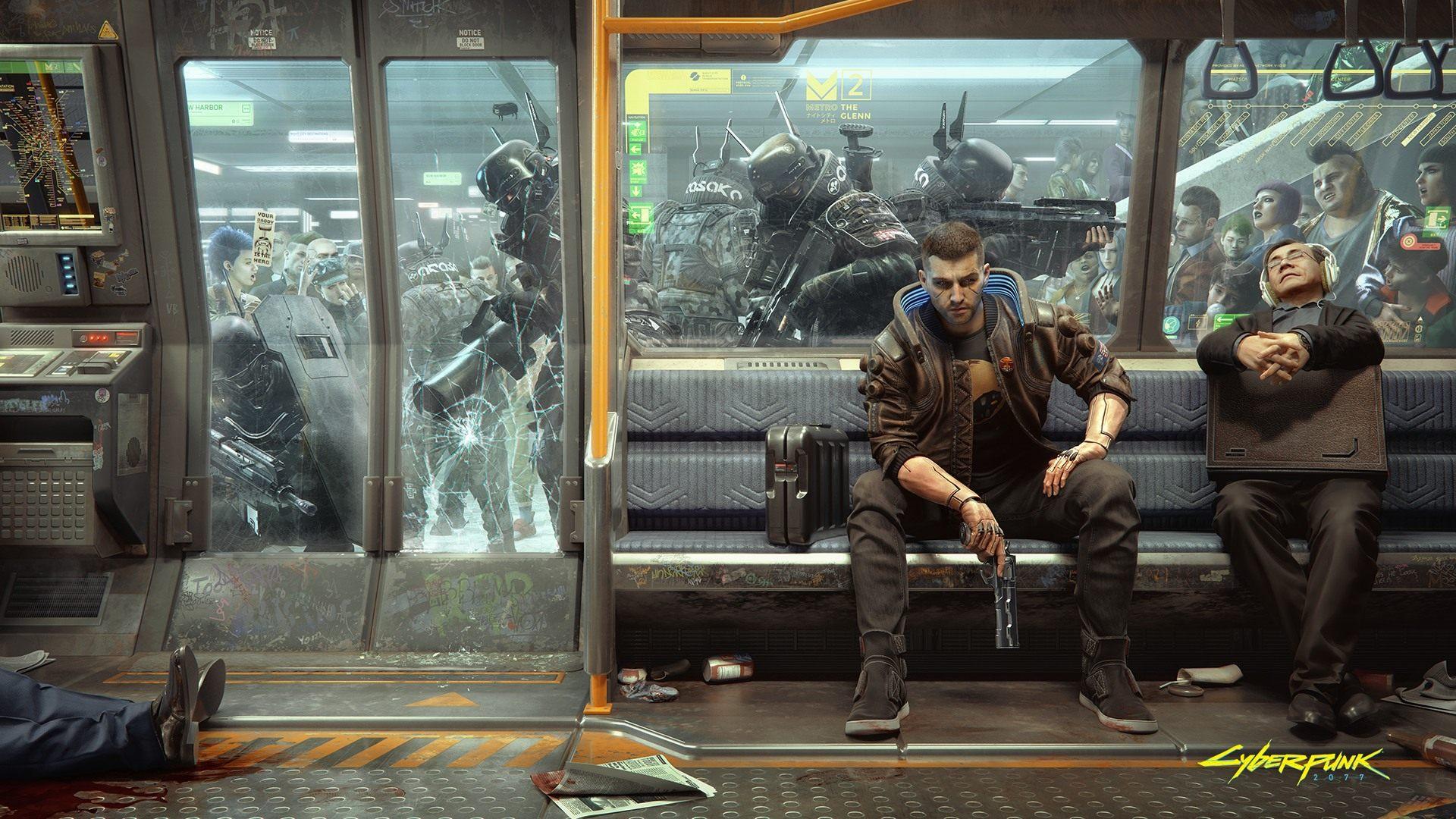 Cyberpunk 2077, un po' di sfondi per i nostri PC | GameSoul.it