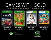 Games With Gold aprile