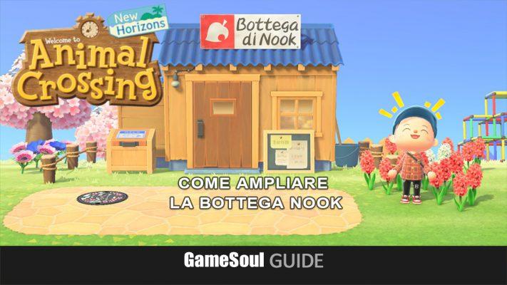 Animal Crossing: New Horizons – Migliorare la Bottega di Nook