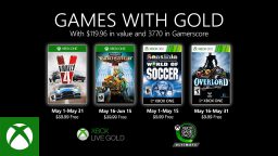 games with gold maggio 2020