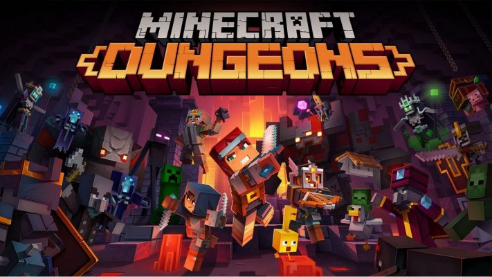 Minecraft Dungeons data
