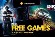 PlayStation Plus aprile