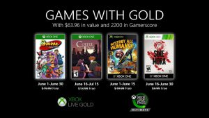 Games With Gold giugno