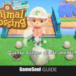 Animal Crossing: New Horizons – Quanto durano gli Strumenti?