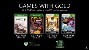 Games With Gold luglio