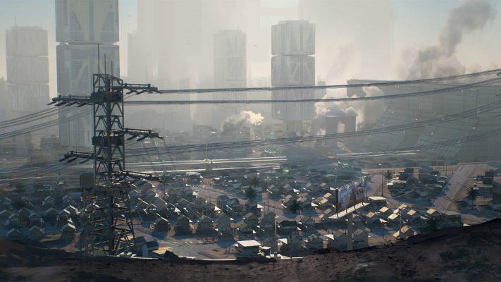 Cyberpunk 2077 Santo Domingo