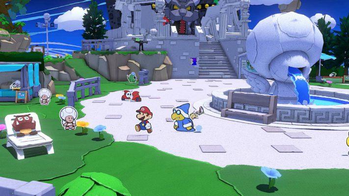 Paper Mario: The Origami King trailer lancio