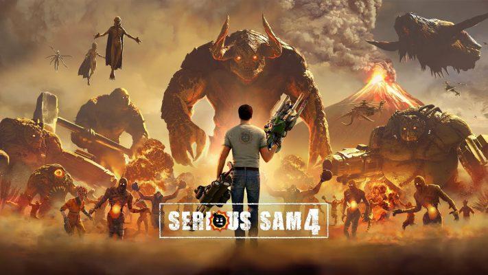 Serious Sam 4, nuovo trailer per il folle sparatutto di Croteam