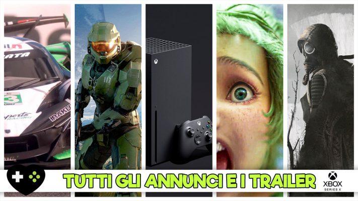 Xbox Games Showcase – Tutti gli annunci e i trailer per Xbox Series X