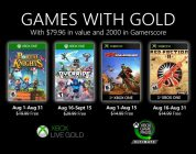 Xbox Games With Gold agosto