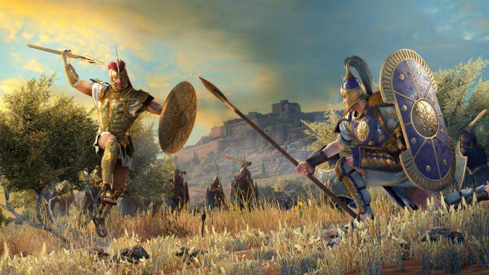 A Total War Saga: Troy eroi
