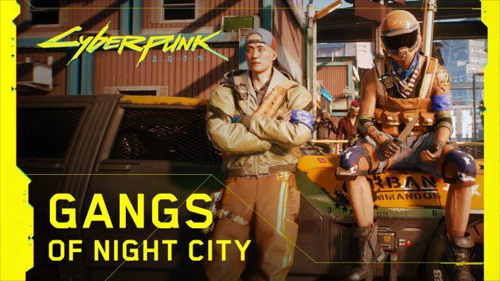 Cyberpunk 2077 gang