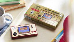 Game & Watch: Super Mario Bros. annuncio