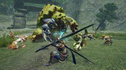 Monster Hunter Rise gameplay Tokyo Game Show 2020