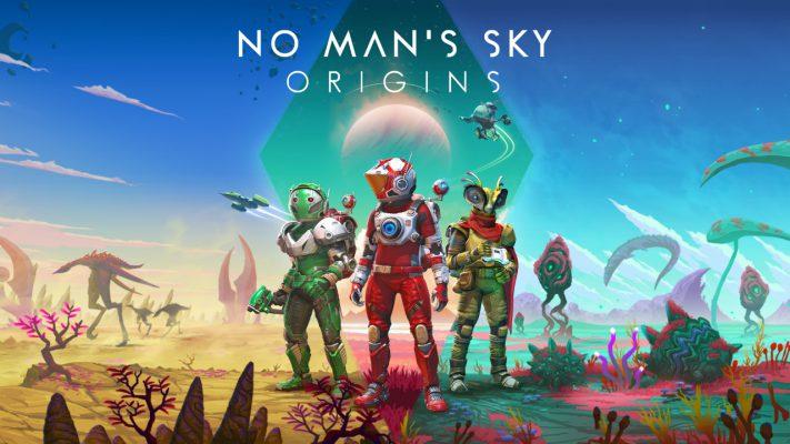 No Man's Sky Origins trailer lancio