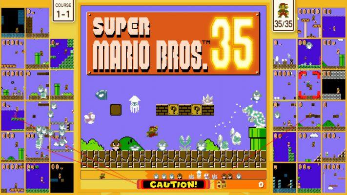 Super Mario Bros. 35 annuncio