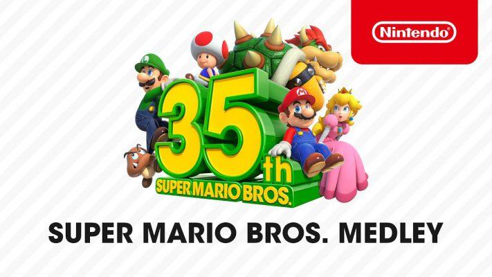 Super Mario Bros. 35th Anniversary medley