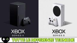 Xbox Series X e Xbox Series S – le differenze tecniche
