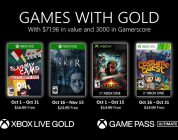 Xbox Games With Gold ottobre