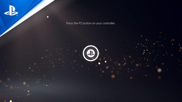 PlayStation 5 dashboard