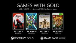 Games With Gold novembre