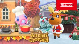 Animal Crossing: New Horizons aggiornamento invernale