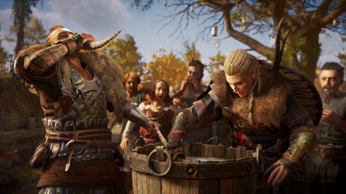 Assassin's Creed Valhalla comparativo Xbox