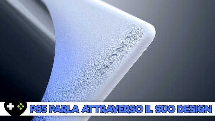 PlayStation 5 ci parla anche attraverso il suo inusuale design