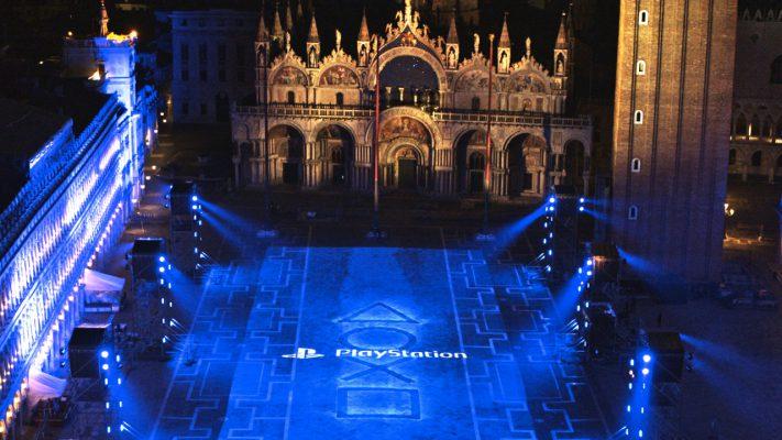 PlayStation 5 piazza San Marco