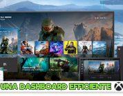 Xbox Series X, una dashboard all'insegna dell'efficienza