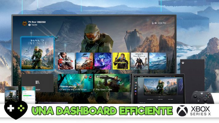 Xbox Series X, una dashboard all'insegna dell'efficienza