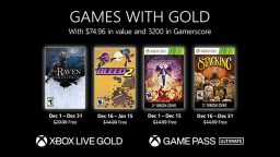 Games With Gold dicembre