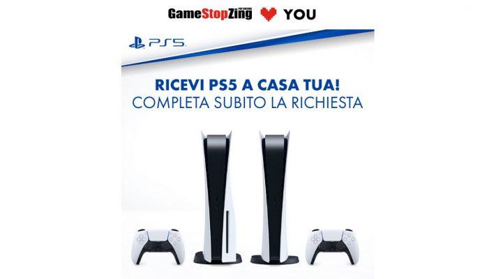 GameStopZing PS5