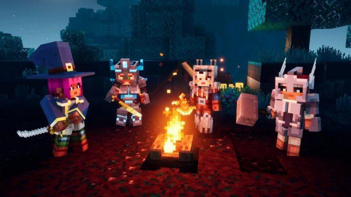 Minecraft Dungeons cross