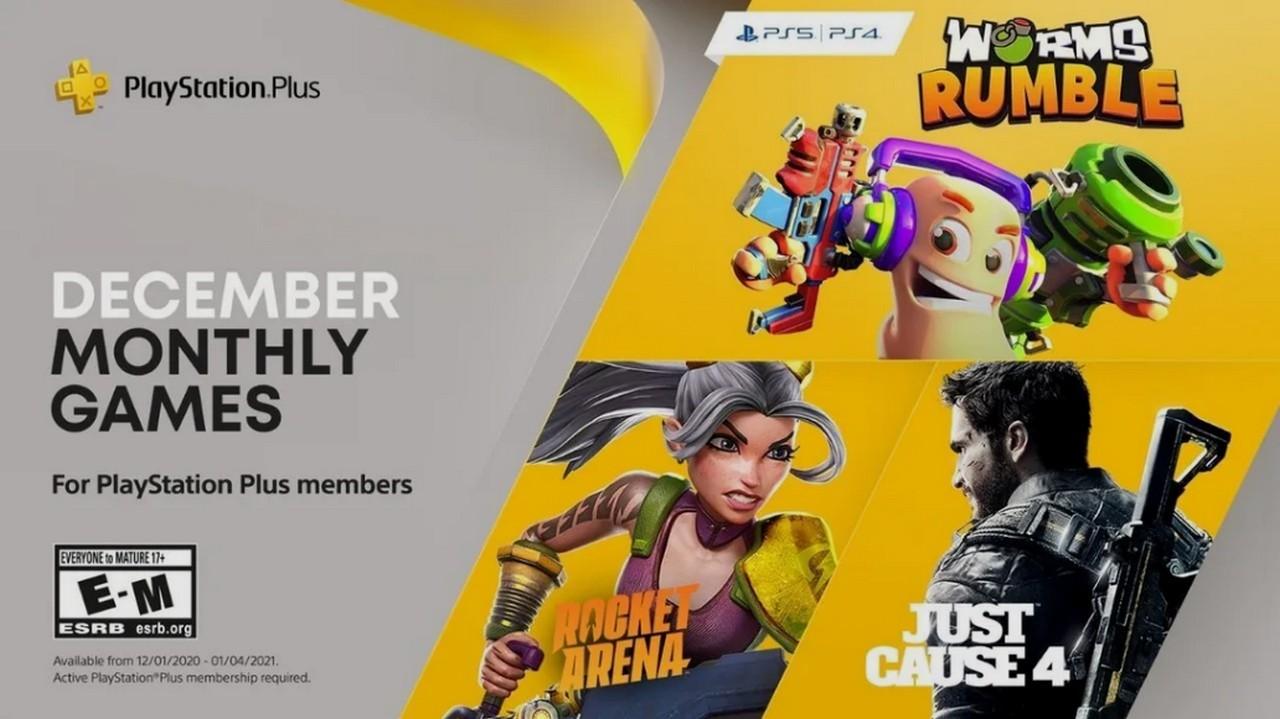 Worms Rumble, Rocket Arena e Just Cause 4 sono i titoli PS Plus di ...