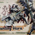 Monster Hunter Rise corno da caccia spadascia