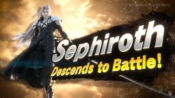 Super Smash Bros Sephiroth