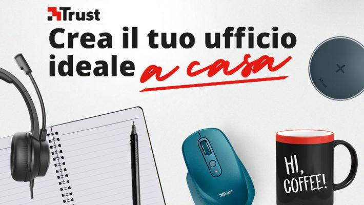 Con Trust Home & Office si possono vincere fantastici premi