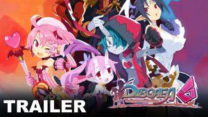 Disgaea 6: Defiance of Destiny trailer personaggi