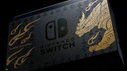 Nintendo Switch Monster Hunter Rise banner