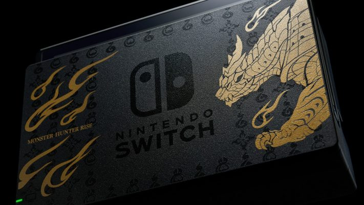 Nintendo Switch Monster Hunter Rise banner